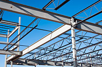 Steel structures, halls, buildings