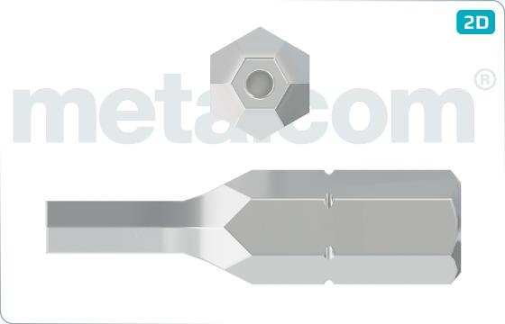 Bity bezpečnostné šesťhranné - PIN-HEX