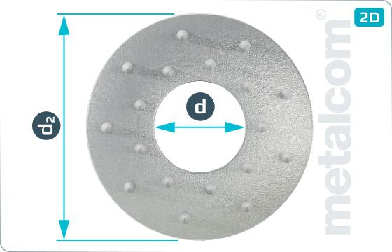 Pojistné kroužky pro dřevěné konstrukce typ C11 (Geka) - DIN 1052 TypC11