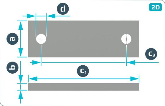 Objímky příložky na nápravy - DIN 15058