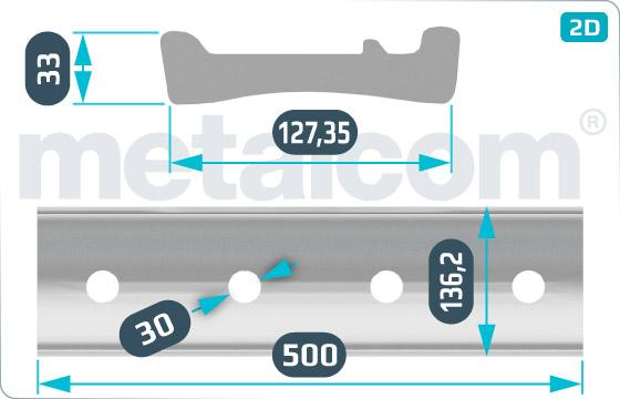 Spojky NT vnější 500 - DK-4-076-98