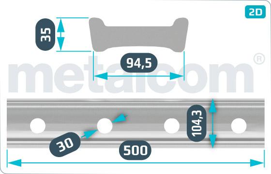 Spojky NT vnitřní 500 - DK-4-077-98