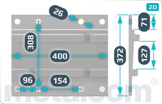 Mostíkové dosky S5 - DK-4-319-93