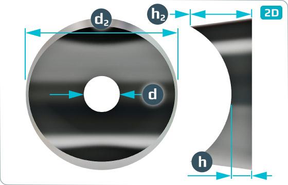 Podložky sedlové pro fixaci trubic - Weiss, Schwarz