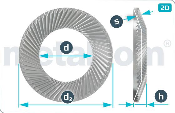 Lock washers SCHNORR ( form S )