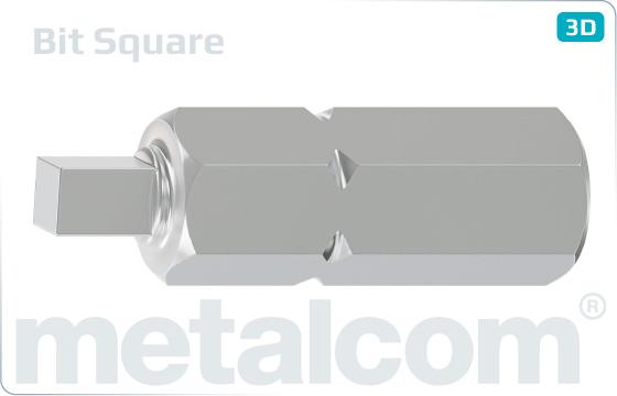 Bits für Innenvierkant - Square