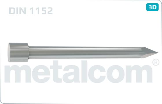 Hřebíky s plochou hlavou kolářské - DIN 1152