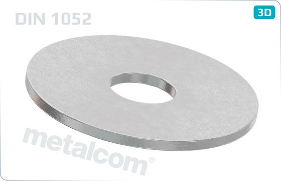 Podložky ploché pre drevené spoje - DIN 1052