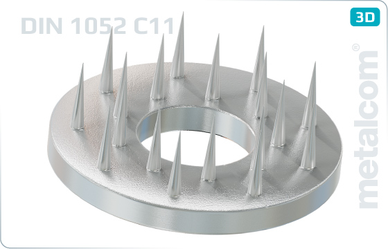 Siecherungsscheiben Holzverbinder typ C11 (Geka) - DIN 1052 TypC11