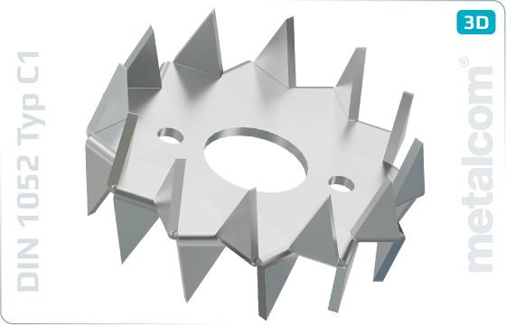Pojistné kroužky pro dřevěné konstrukce typ C1 (Bulldog) - DIN 1052 TypC1