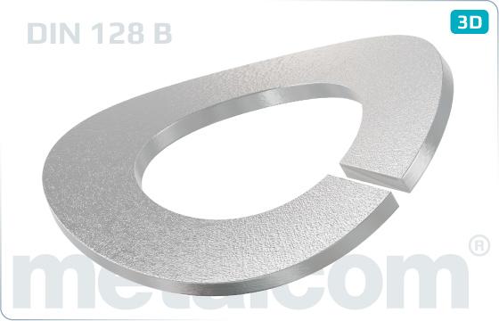 Podkładki sprężyste faliste - DIN 128