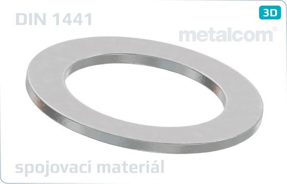 Podložky ploché pre čapy (veľké) - DIN 1441