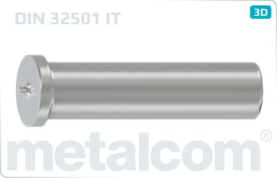 Stifte mit Kopf Scweißbolzen mit Innengewinde - DIN 32501 IT