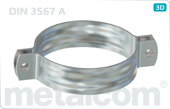 Objímky trubkové rovnoramenné - DIN 3567 A