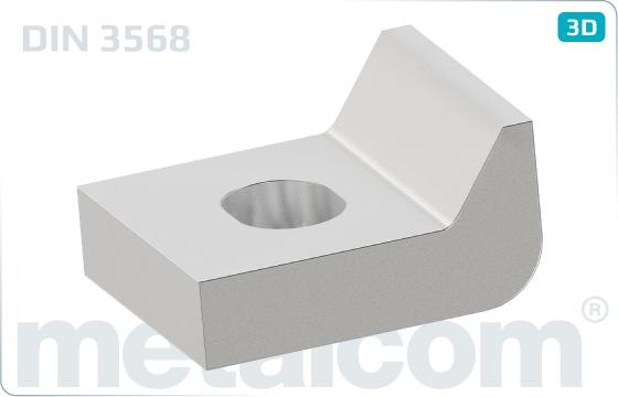 Objímky upínací desky - DIN 3568