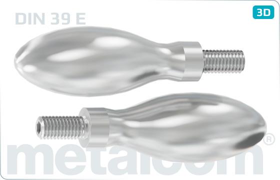 Handle screws Machine handles - DIN 39