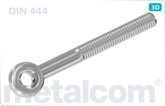 Eye screws swivel bolts - DIN 444