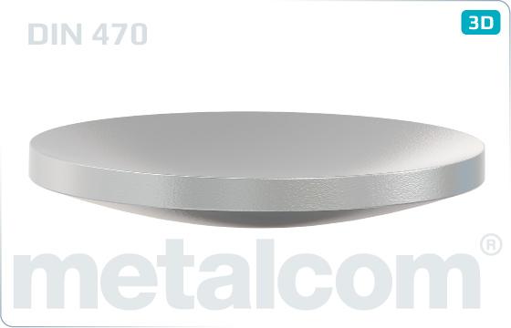 Verschlusscheiben kugel - DIN 470