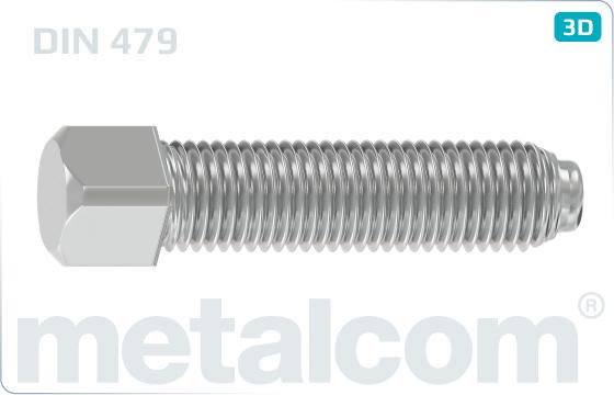 Vierkantschrauben mit Kernansatz - DIN 479