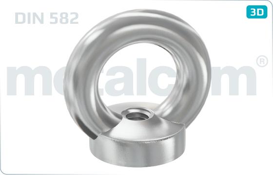 Lifting nuts eye nuts - DIN 582