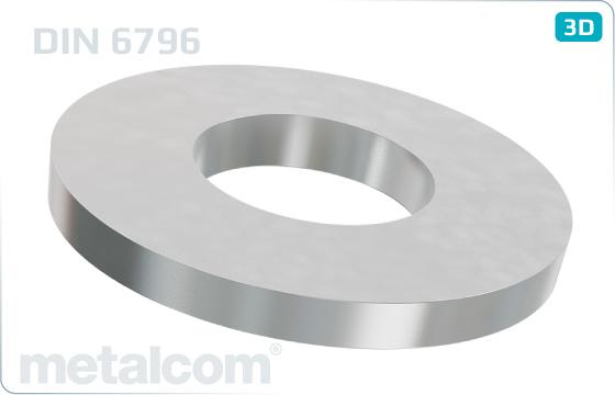Podložky pružné upínací - DIN 6796