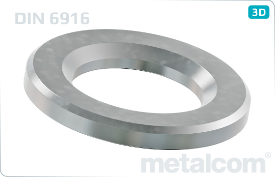 Plain washers for steel structures HV - DIN 6916
