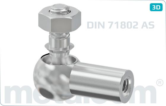 Šrouby ostatní úhlové spojky - DIN 71802 AS