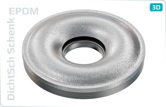 Podložky těsnící s EPDM těsněním pro šrouby se zápustnou hlavou - EPDM-Senk