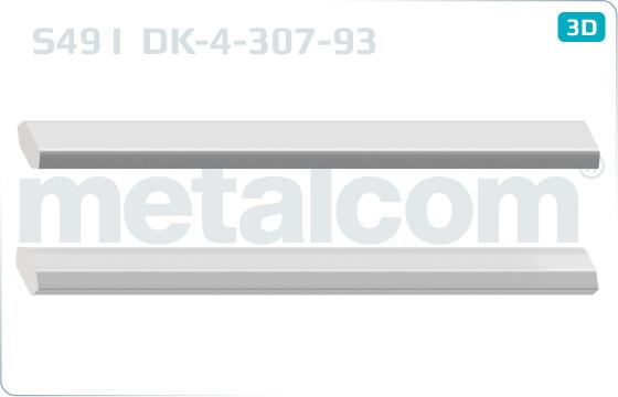 Złączki S49 I nie perforowane - DK-4-307-93