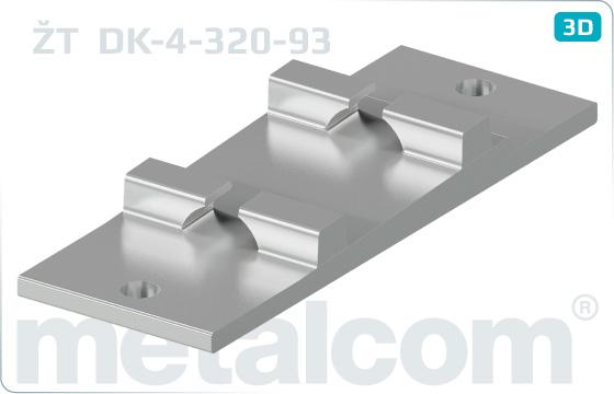 Podkladnice žebrové ŽT - DK-4-320-93