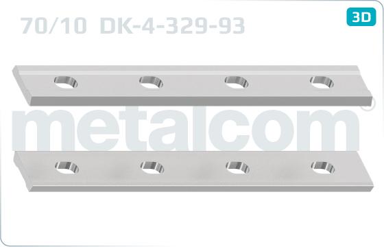Fish plates 70/10 - DK-4-329-93