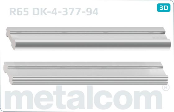Złączki R65 (900) bez otworów - DK-4-377-94