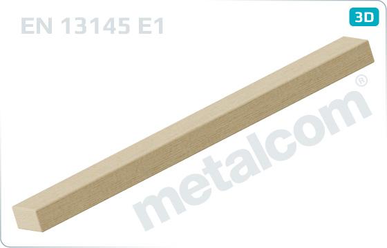 Dřevěné pražce příčné - E1