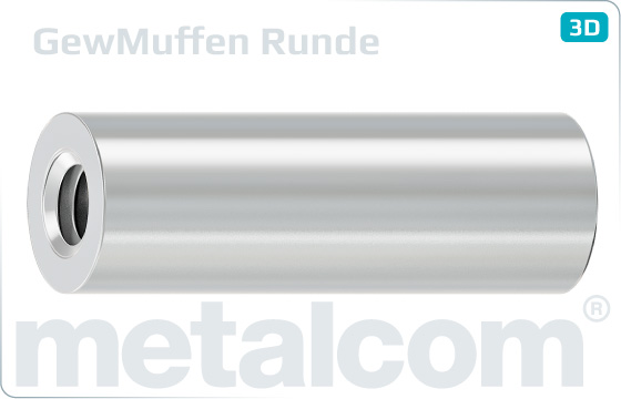 Miscellaneous nuts round coupler - Runde