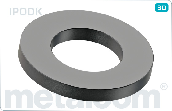 Podložky plastové pod kovové distanční kroužky - IPODK