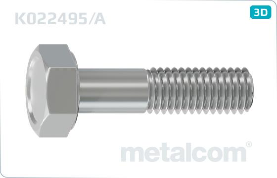 Skrutky so šesťhrannou hlavou pre nárazníky - K022495/A