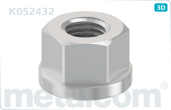 Nuts disc hexagon nuts M24