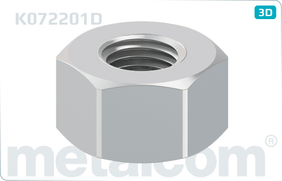 Nuts hexagon nuts M 22