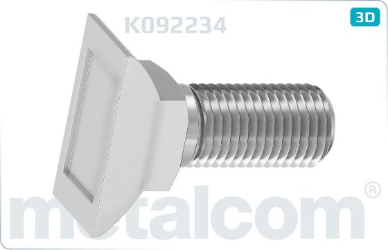 Screws clamp bolts M 22