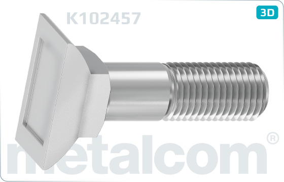 Schrauben für Zungenriegel M 24