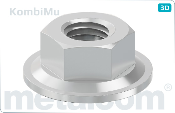 Hexagon nuts comby-nuts - KombiMu