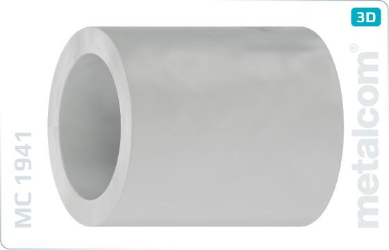Podložky ploché dištančné - Weiss