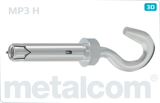 Anchors heavy duty anchors with hook - H