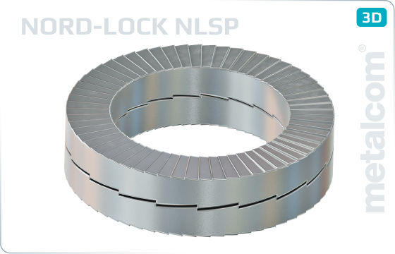 Pojistné kroužky NORD-LOCK, velké - NLSP
