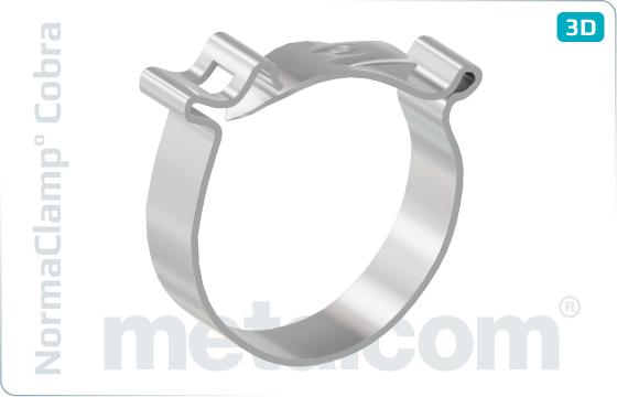 Objímky hadicové bezšroubové - NormaClamp° Cobra