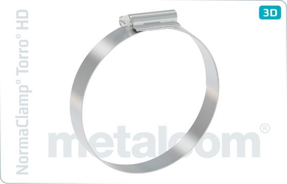 Objímky hadicové - NormaClamp° Torro° HD