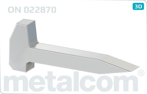 Śruby gwoździe kolejowe - ON 022870