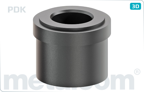 Washers plastic distance rings