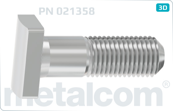Screws clamp bolts T5 - PN 021358