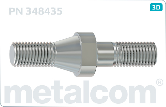 Pins cone for shackle insulators